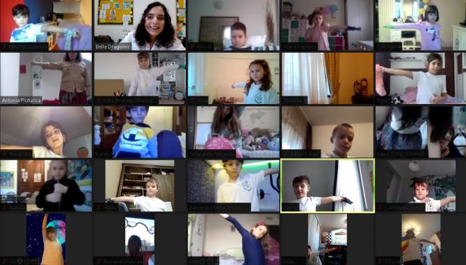 Atelierul de noduri și de comunicare prin fanioane, prima activitate online a Cercetașilor IOANID
