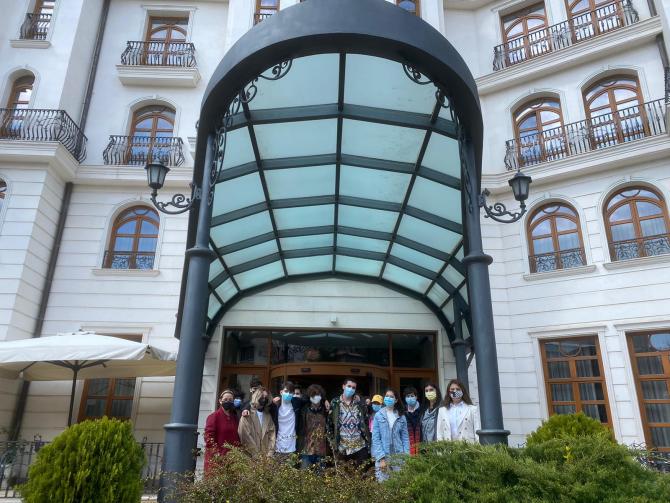 #MeetYourFuture: Liceenii au învățat despre managementului hotelier vizitând singurul hotel Relais & Chateaux din România